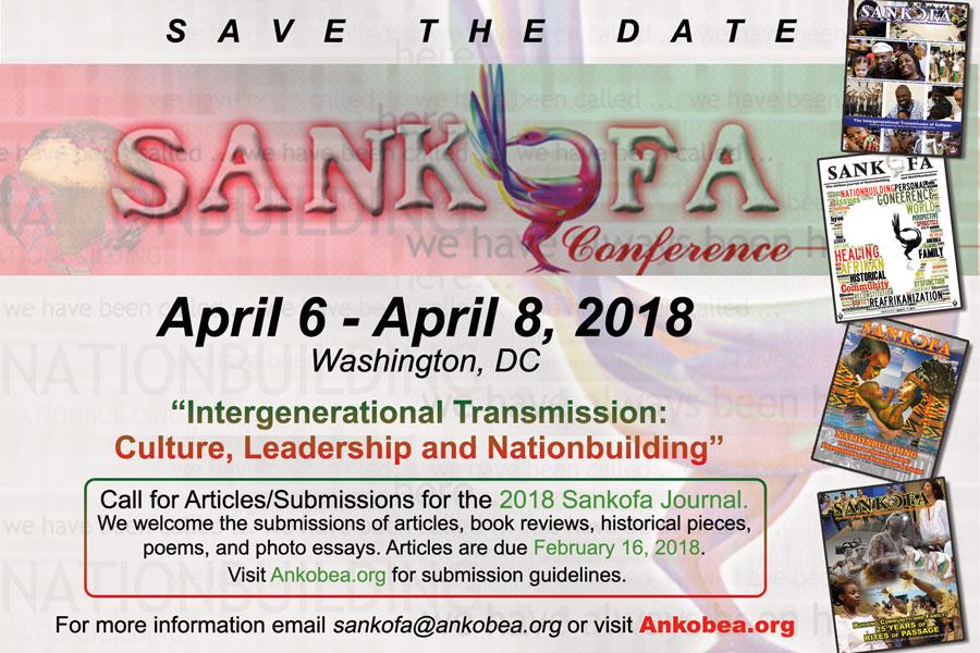 Sankofa Save the Date 2018